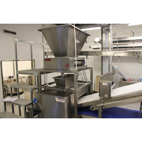 Farhat bakery equipment dough feeding dosing hopper machines