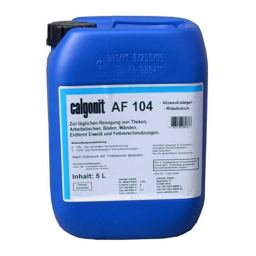 Calgonit AF 104 Manual Cleaning and Disinfection