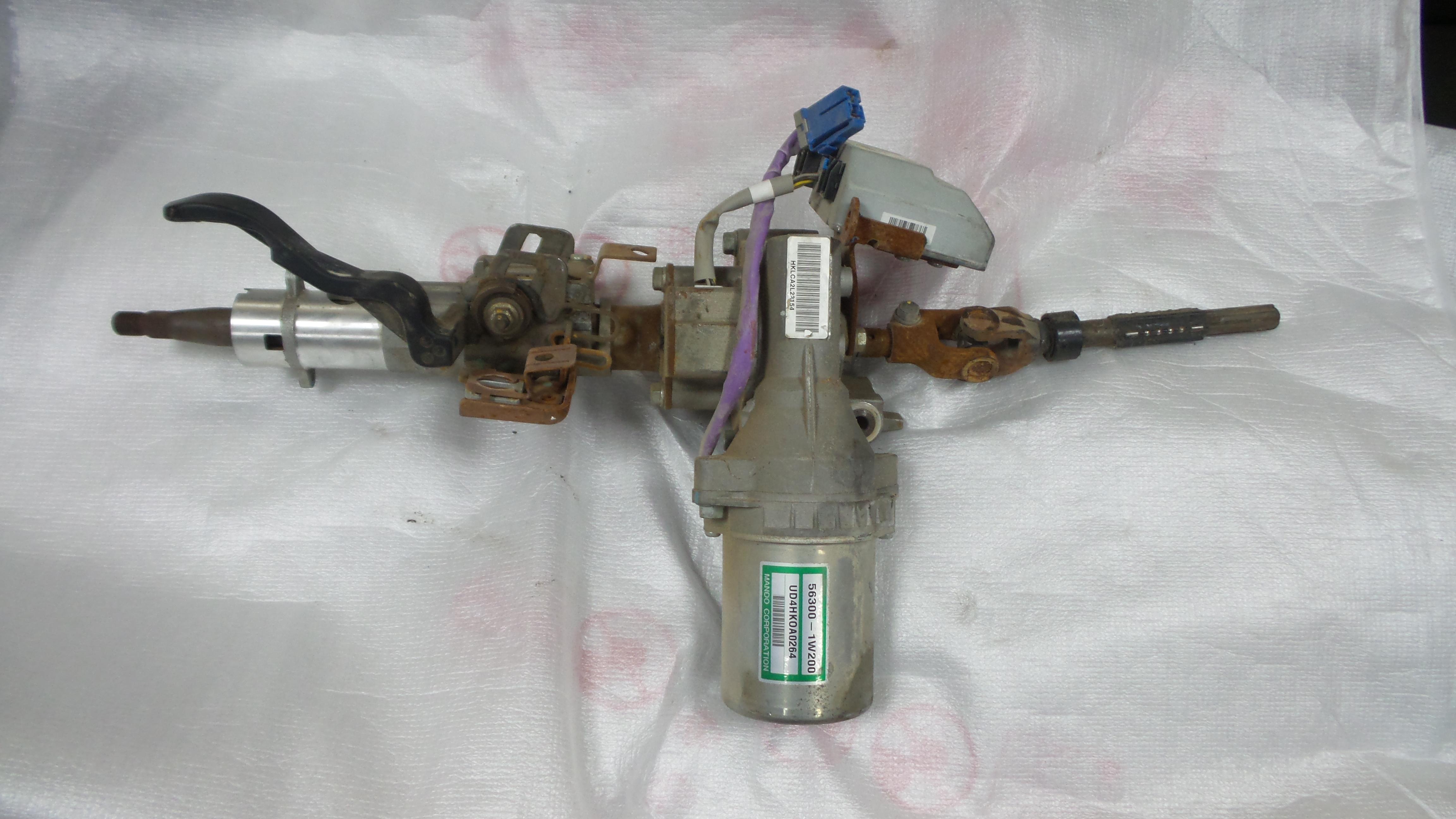 Kia rio steering motor assembly