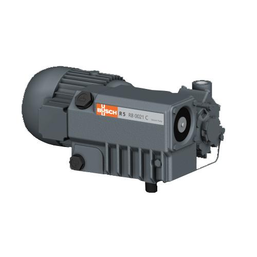 Busch r 5 rb 0021 c oil-lubricated rotary vane vacuum pumps