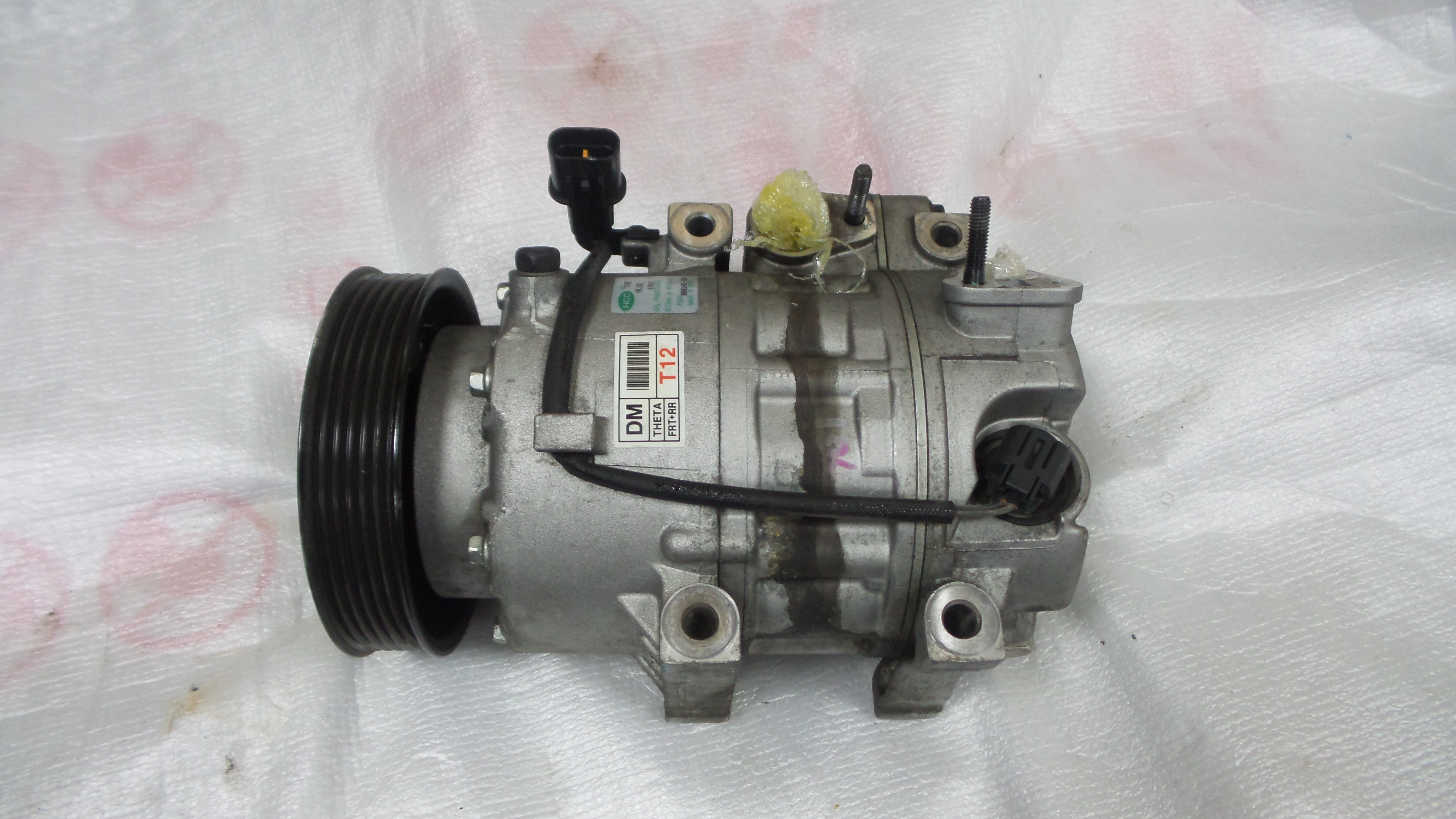 Hyundai Santa fe Compressor_4