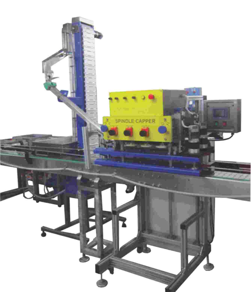 Packworld fzc automatic linear capping machines