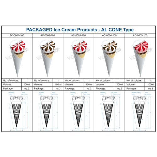 Ice cream equipment ai cone