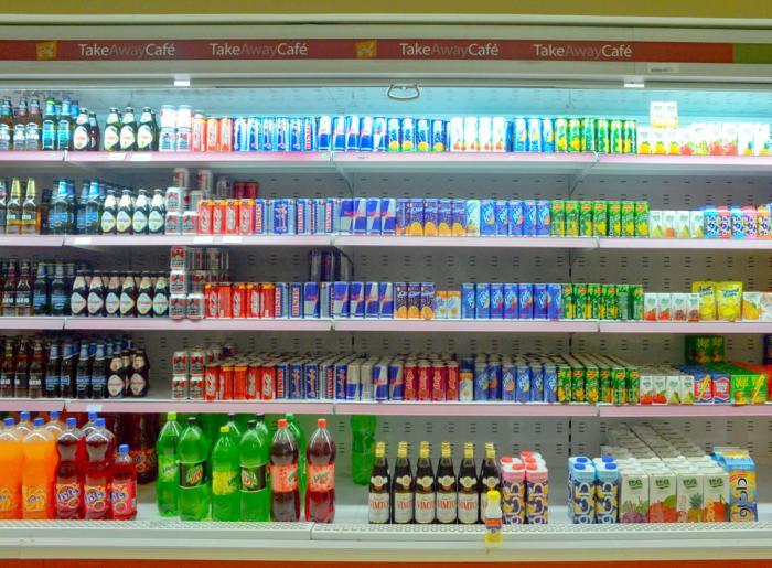 Al-omran supermarket shelves