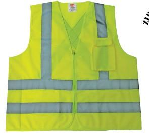 Safety vest high visible
