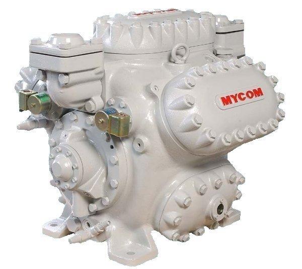 Mayekawa wbhe-series single stage piston compressor