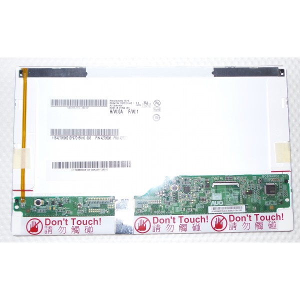 AU Optronics LCD SCREEN NEW 8.9 B089AW01 V3_4