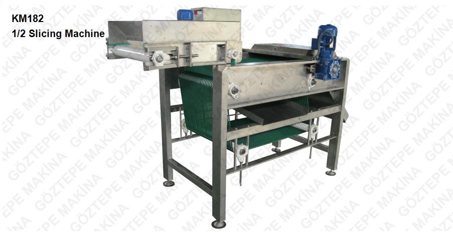 Km182 ½ slicing machine