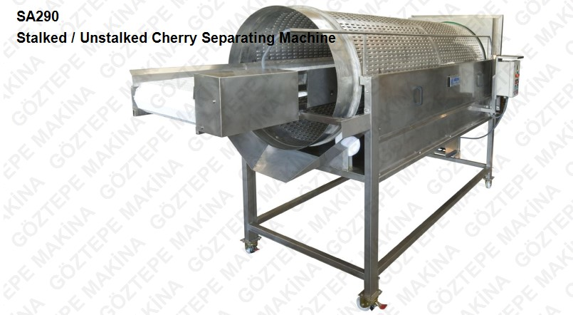 Sa290 stalked or unstalked cherry separatinging machine