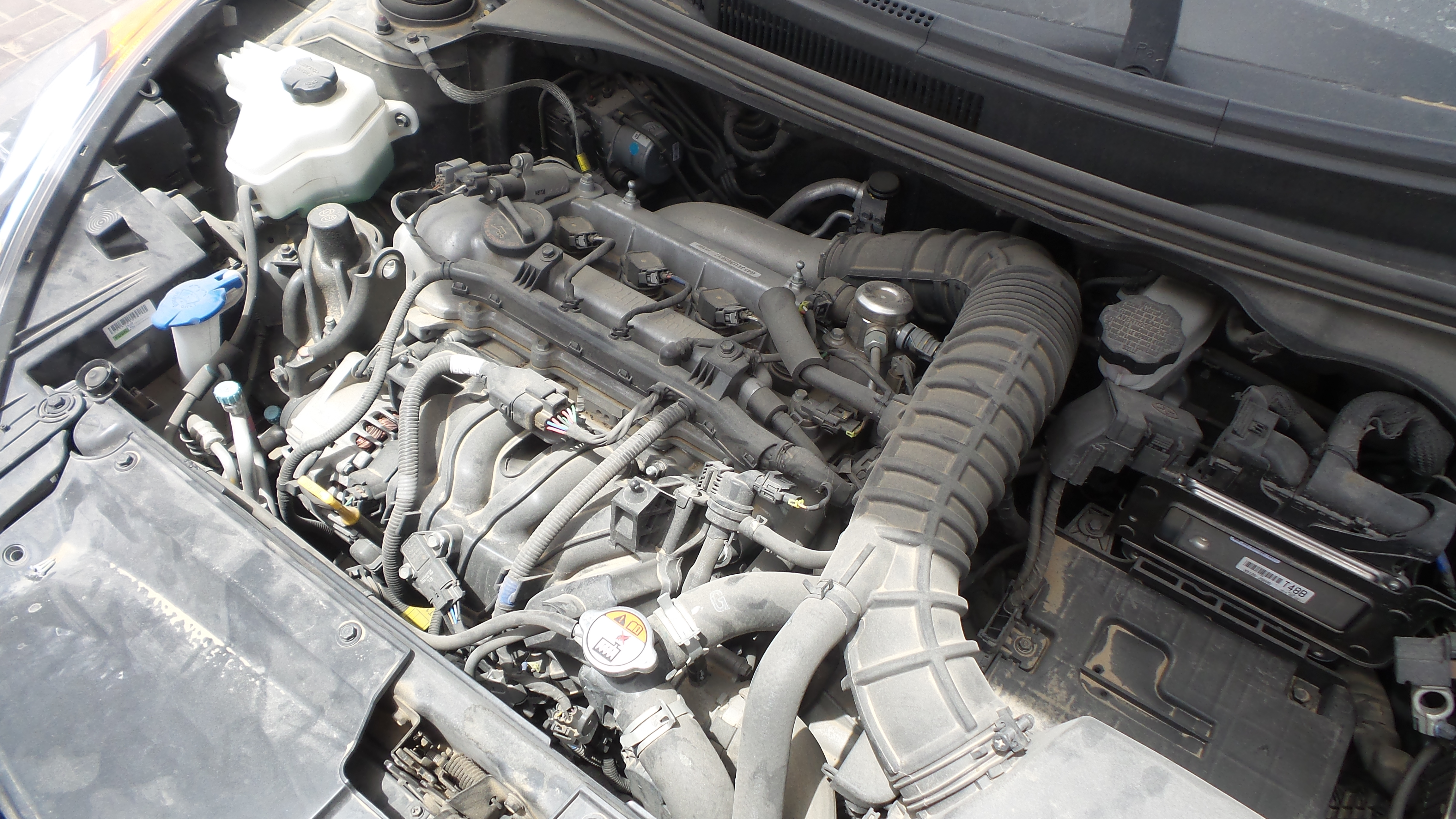Hyundai santa fe 2.4 engine G4KE EMPTY_4