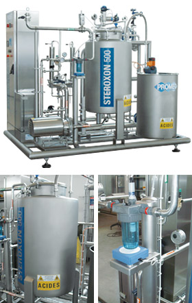 Steroxon processing systems