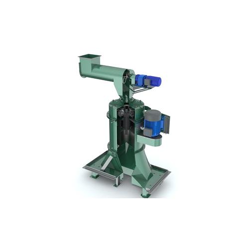 Vertical hulling machines