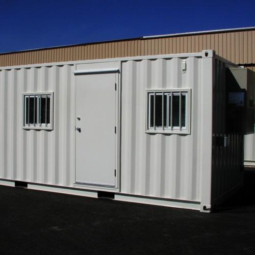 2 door office container