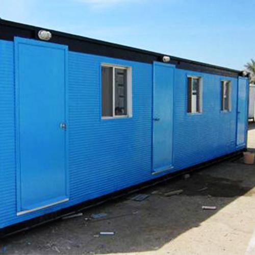 3 door office container