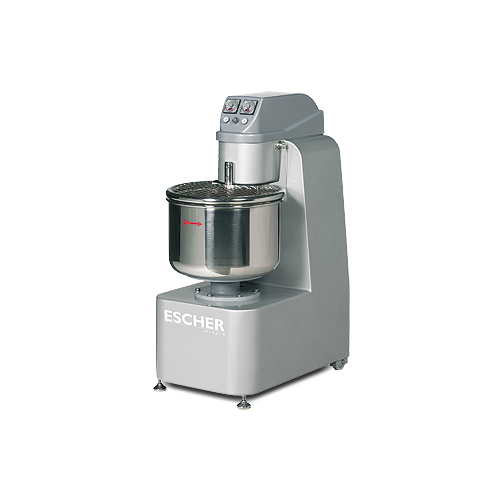 M1 line fixed bowl spiral mixers with one motor