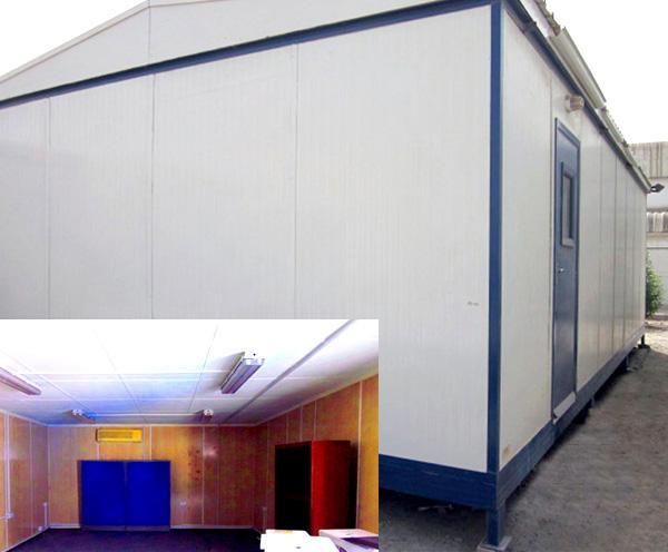 32' x 16' open plan hi - spec porta cabins