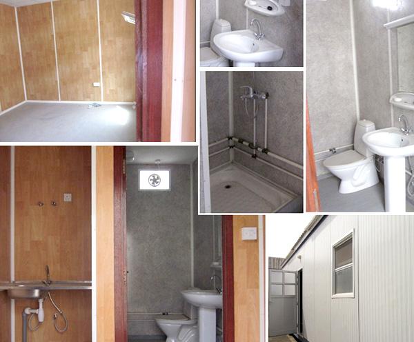 36' x 12'  2 room with toilet  open plan hi - spec porta cabins