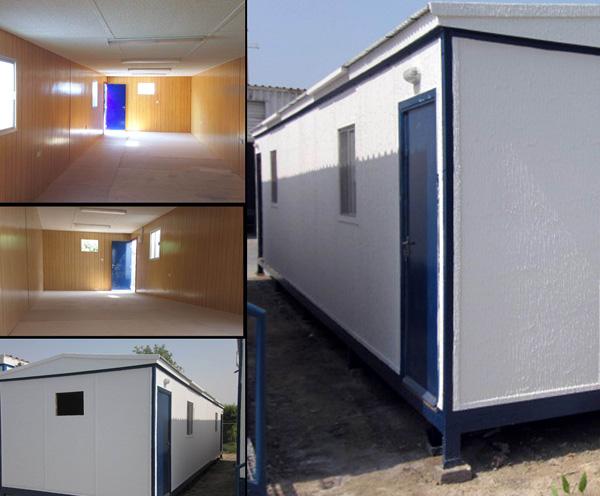 40' x 12' open plan hi - spec porta cabins