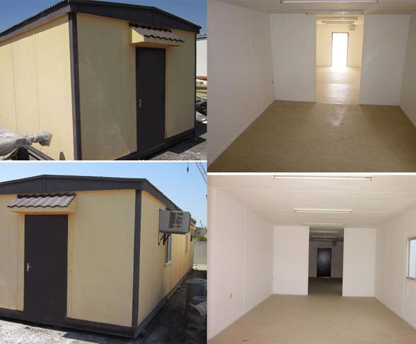 40' x 12' open plan standard porta cabins