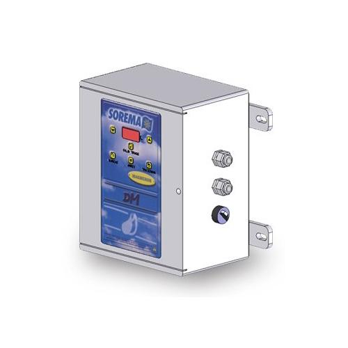 Automatic pressure water meter