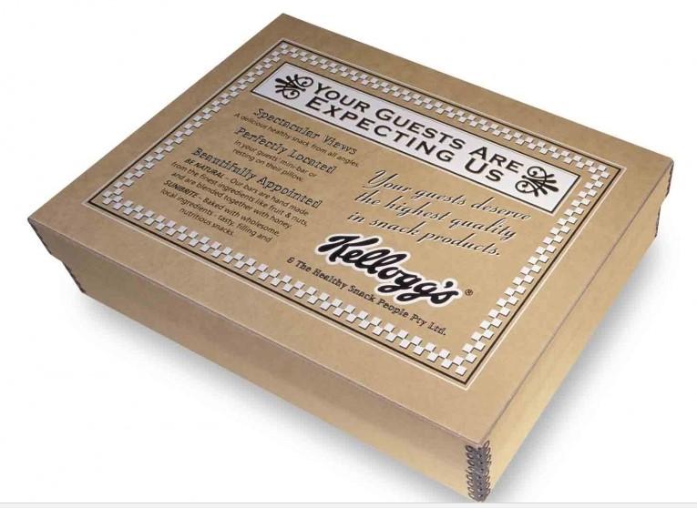 Metal edge custom boxes