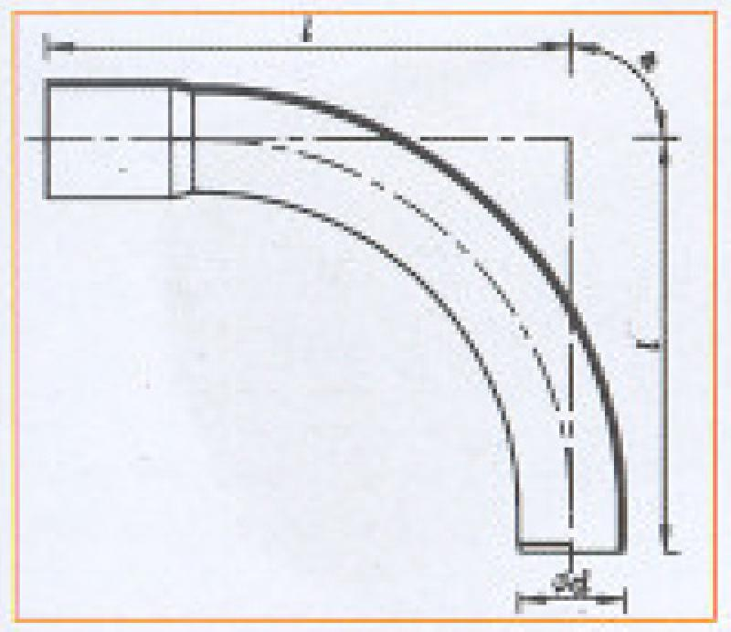 PVC_U Pressure Pipe Systems - Bend(Solvent Cement Joint)_3