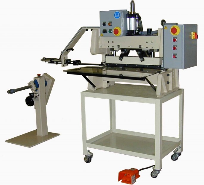 Cutting edge bench model edger (bme-hf) - hand fed
