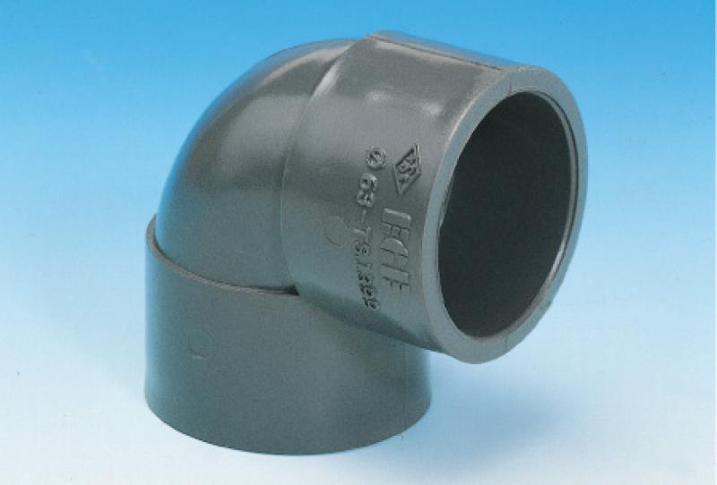 Pvc_u pressure pıpe systems -elbow (solvent cement joınt)90º