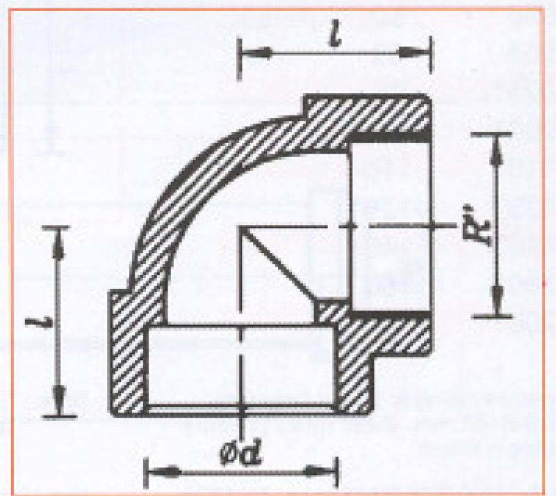 PVC_U Pressure Pipe Systems -Threaded Elbow 90º_3