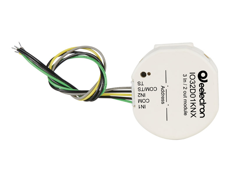 O32d01knx inwall 3 in / 2 out module