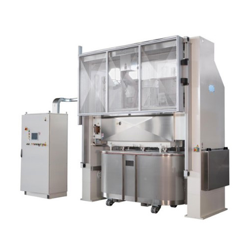 Vertical mixer machine for bakery products