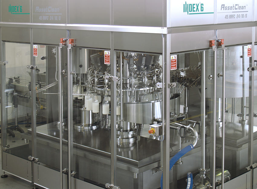 Flowrate filling machine