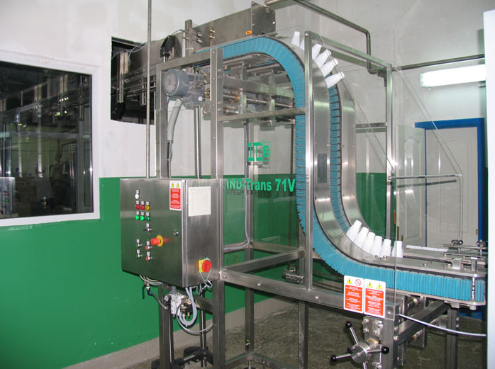 Conveyors, buffer systems, auxiliary equipment machine