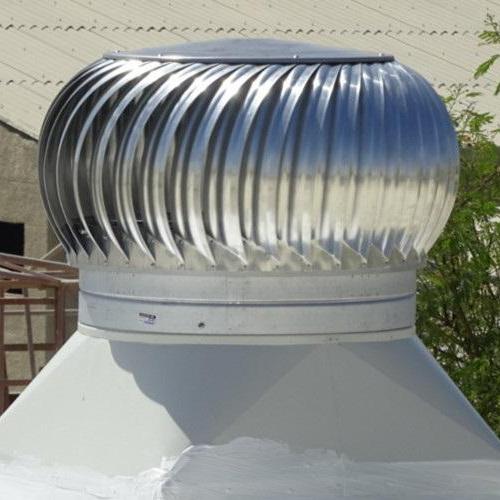 Green roof ventilation
