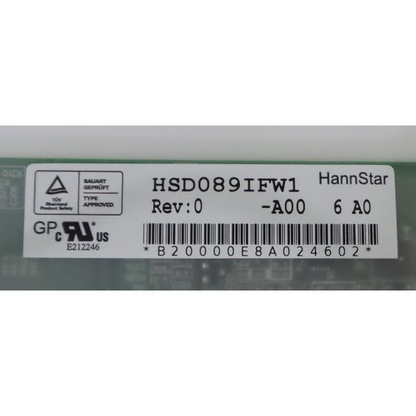 LAPTOP LCD SCREEN FOR HANNSTAR HSD089IFW1-A00 1024*600_3