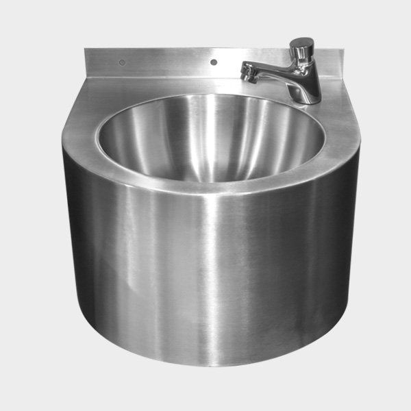 N604L27 Stainless Steel Circle Wash Basin No Tap_2