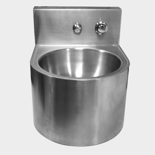 N604L50 Stainless Steel Circle Wash Basin No Tap_2