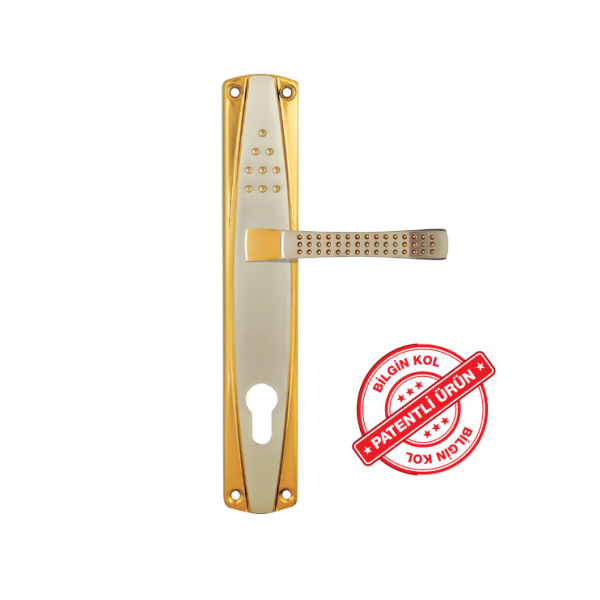 Rustik ayna alb sat beyza arm- door handles