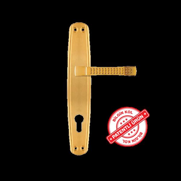 Oval ayna alb beyza arm- door handles