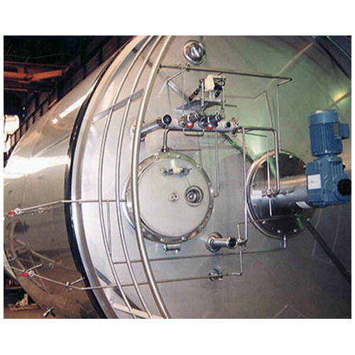 Sterile tank for dairy - cheese