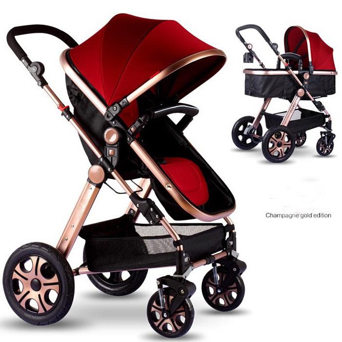 Pikkaboo - 3in1 luxury pram stroller