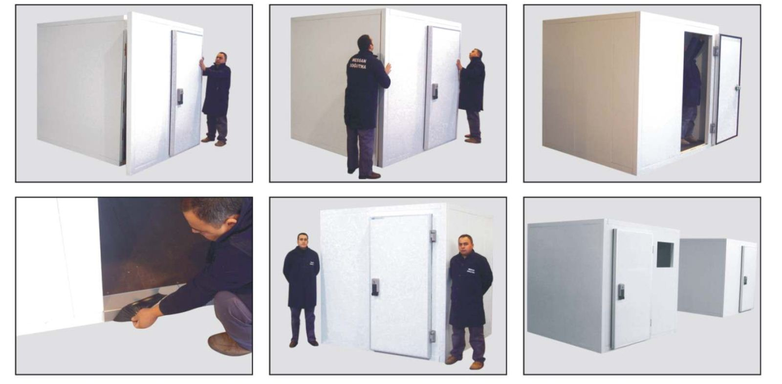 Messan moduler cold rooms