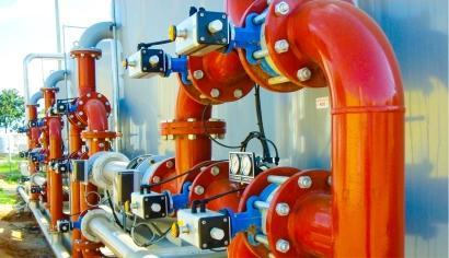 Water Treatment Mechanical Construction_2