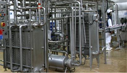Pasteurization systems mechanical construction