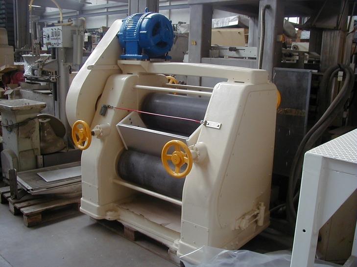 3 roll stone refiner carle & montanari machines