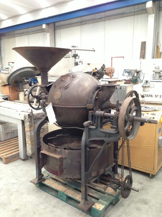 Sirocco 50 ball roaster machines