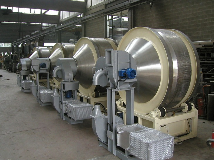 T300 coating pans pellegrini machines