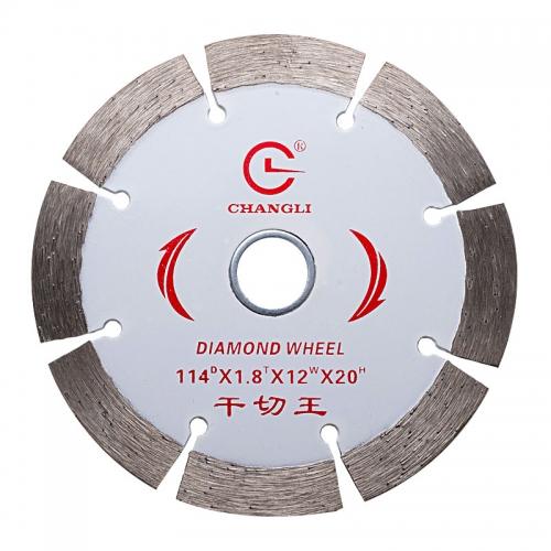 Dry/wet diamond saw blades