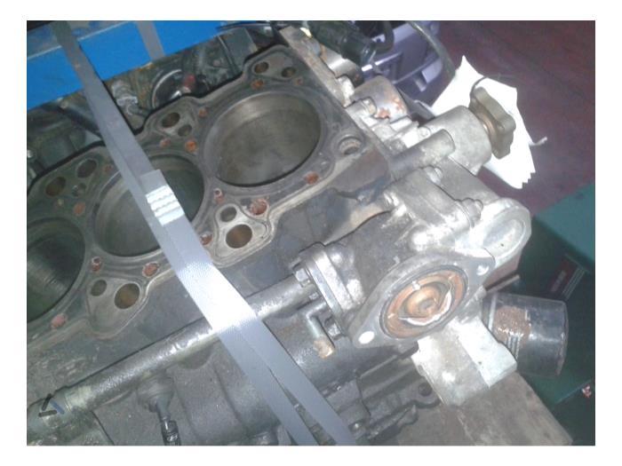 Kia Sorento 2.4 Engine G4KE Empty_2