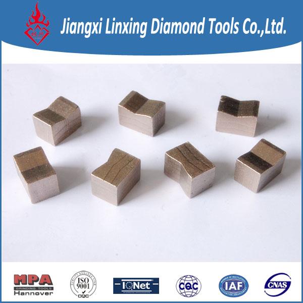 Block cutting k shanpe segment for granite
